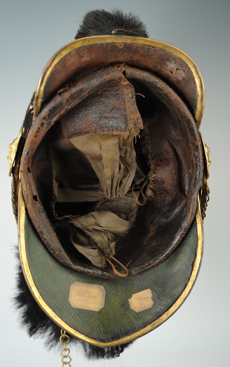 casque d u0026 39 officier des gardes du corps du roi de la maison
