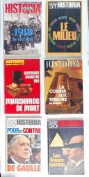 Lot de 26 revues Historia