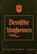 RUHL. DEUTSCHE UNIFORMEN (1936). (1)