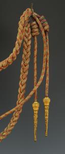 MANNEQUIN TROUPE DE L'ESCADRON DES CENT-GARDES DE L'EMPEREUR NAPOLÉON III, SECOND EMPIRE.  (2)