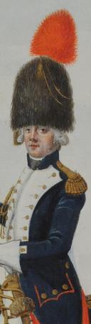 Photo 3 : NICOLAS HOFFMANN, OFFICIER DES GRENADIERS À CHEVAL DE LA GARDE DES CONSULAIRES, CONSULAT.