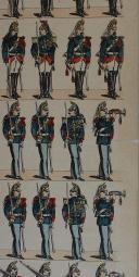 """PELLERIN - """" Garde Républicaine """" - Imagerie d'Épinal - n° 188 (4)"""