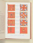 Photo 4 : JOHNSON (Stanley). The flags of our fighting army, including standards, guidons, colours and drum banners.