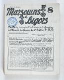 """Photo 1 : """" Marsouins et Bigors """" - Lot de 18 Bulletins officiels trimestriels et bi-mestriels - (1951 à 1959)"""