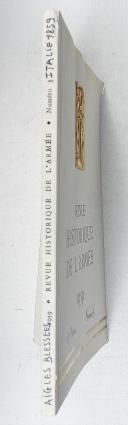 Photo 2 : Revue Historique de l'armée 1959