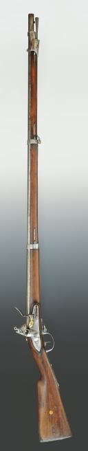 Photo 2 : FUSIL D'INFANTERIE, modèle 1777 corrigé An IX, Restauration.