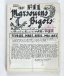 """Photo 3 : """" Marsouins et Bigors """" - Lot de 18 Bulletins officiels trimestriels et bi-mestriels - (1951 à 1959)"""