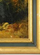 Photo 3 : GRENADIER À PIED DE LA GARDE IMPÉRIALE DU PREMIER EMPIRE, HUILE SUR TOILE, 2de MOITIÈ DU XIXème.