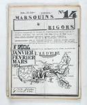 """Photo 4 : """" Marsouins et Bigors """" - Lot de 18 Bulletins officiels trimestriels et bi-mestriels - (1951 à 1959)"""