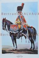 RIGO (ALBERT RIGONDAUD) : LE PLUMET PLANCHE ES3 : GARDE IMPERIALE GENDARMERIE D'ELITE TIMBALIER 1806.