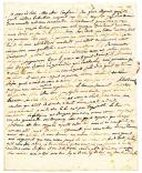 LETTRE DU SOLDAT CHATEAUBODEAU, À LA RETRAITE, datée de Clermont 22 messidor an 3, DESTINÉE AU CITOYEN ALCHÉ, 10 juillet 1795.