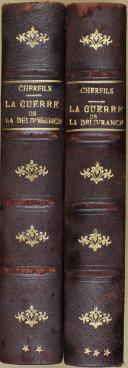 """Photo 2 : CHERFILS - """" La guerre de la délivrance """" - 2 volumes - Paris - 1922"""