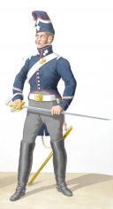 1817. Garde Royale. Grenadiers à Cheval (2e Régiment). Grenadier, Brigadier. (2)