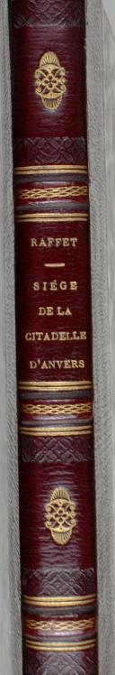 RAFFET. Dessins faits d'après nature au siège de la citadelle d'Anvers. (2)