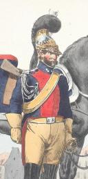 Photo 2 : BELLANGÉ (Hippolyte) - GENDARMERIE DES CHASSES MAISONS ET RÉSIDENCES DU ROI, 1816.