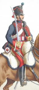 Photo 2 : 1816. Hussards. Hussard (5e Régiment - du Bas Rhin).