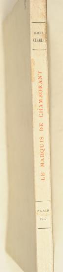 Albert Curmer – Le Marquis de Chamborant  (2)