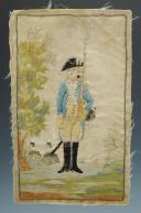 Nicolas Hoffmann, soldat d'infanterie du 18e siècle.
