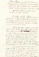 Chouannerie. BEAU CERTIFICAT DE SERVICES DE FIDÈLE PIQUELIN, domicilié à Angers, Sergent dans la 3è Compagnie de la Colonne Mobile, aspirant à obtenir un grade dans la Légion de Maine & Loire, Angers 29 vendémiaire an 8 (21 octobre 1799 ).