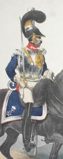 Photo 2 : BELLANGÉ (Hippolyte) - CUIRASSIER DE LA GARDE ROYALE, 1816.