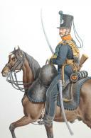 Photo 2 : 1820. Légions Départentales. Eclaireurs (52e Légion - de la Meurthe).