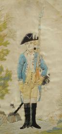 Photo 2 : Nicolas Hoffmann, soldat d'infanterie du 18ème siècle.