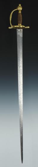 Photo 2 : SABRE DES CAVALIERS ET DRAGONS, MODÈLE 1776, DE 1776 À 1779, ANCIENNE MONARCHIE.