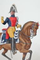 Photo 2 : 1830. Gendarmerie Royale des Départements. Lieutenant.
