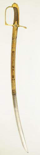 Photo 3 : SABRE D'OFFICIER DES GRENADIERS À PIED DE LA GARDE IMPÉRIALE, PREMIER EMPIRE, 1804-1814.