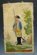 Photo 4 : Nicolas Hoffmann, soldat d'infanterie du 18ème siècle.