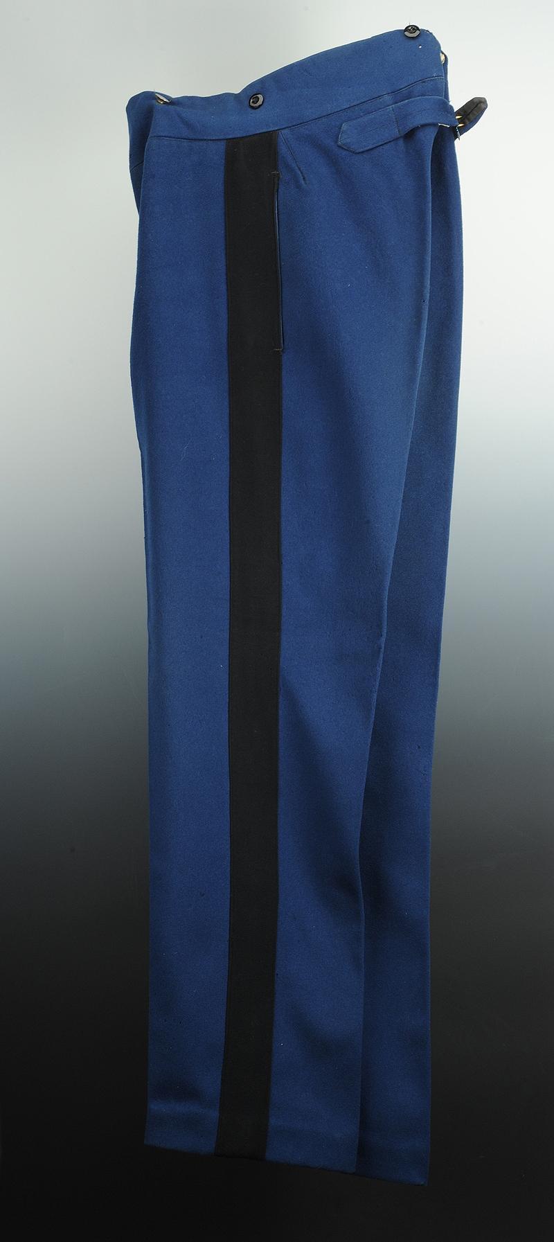 pantalon droit de gendarme  mod u00e8le 1895