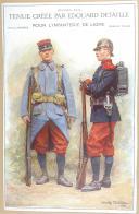 """E. DETAILLE - """" Tenues créées par Edouard Detaille pour l'infanterie de ligne """" - Planche - Janvier 1912 (1)"""