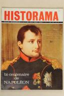 HISTORIAMA. Bi-centenaire ,de Napoléon. Mai 1969.