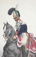 BELLANGÉ (Hippolyte) - GARDE DU CORPS DU ROI DE LA MAISON MILITAIRE DU ROI, 1825. (2)