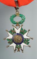 CRAVATE DE COMMANDEUR DE LA LÉGION D'HONNEUR, IIIème République.  (2)