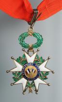 CRAVATE DE COMMANDEUR DE LA LÉGION D'HONNEUR, IIIème République.  (4)