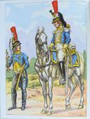 Photo 7 : LES UNIFORMES DU PREMIER EMPIRE - CDT BUCQUOY - LOT DE 10 VOLUMES