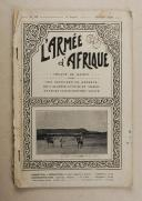 Armée d'Afrique - février 1926