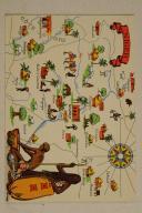 Carte postale mise en couleurs représentant la région du «NIGER».