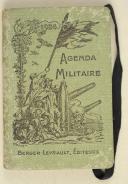 Agenda militaire à l'usage des officiers et sous-officiers De toutes les armes : 1923 – 1924