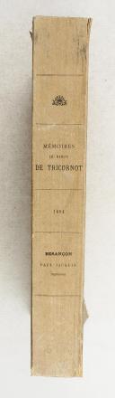 TRICORNOT. Mémoires du baron de Tricornot  (2)