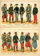 Photo 2 : RUHL. DIE FRANZÖSISCHE ARMEE (1883).