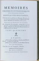 """Photo 3 : GUICHARD (Charles) - """" Mémoires critiques et historiques sur plusieurs points d'antiquité militaire """" -Lot de 2 Tomes - Paris"""