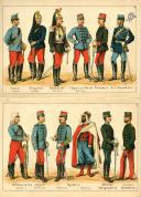 Photo 3 : RUHL. DIE FRANZÖSISCHE ARMEE (1883).