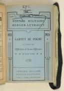Photo 3 : Agenda militaire à l'usage des officiers et sous-officiers de toutes les armes : 1923 – 1924