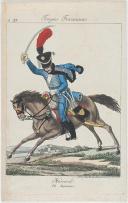 Photo 1 : MARTINET : HUSSARD 10e REGIMENT, PREMIER EMPIRE.