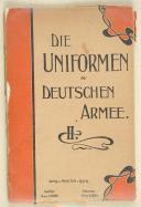 RUHL. Die uniformen der deutschen ARMÉE.   (1)