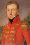 Photo 2 : MOUSQUETAIRE DU ROI DE LA PREMIÈRE COMPAGNIE, HUILE SUR BOIS, 1814-1816.