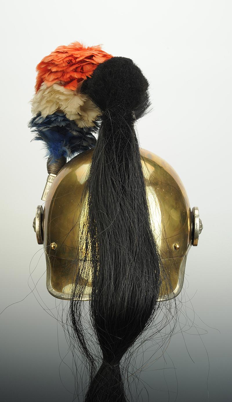 casque d u0026 39 officier de gendarmerie  u00c0 cheval  mod u00c8le 1912