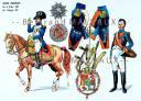 RIGO (ALBERT RIGONDAUD) : LE PLUMET PLANCHE 173 : JOSEPH BONAPARTE ROI DE NAPLES 1808 - ROI D'ESPAGNE 1812. (1)